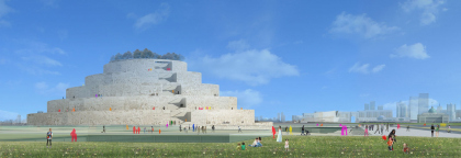 Архитектурная концепция музея истории Казахстана