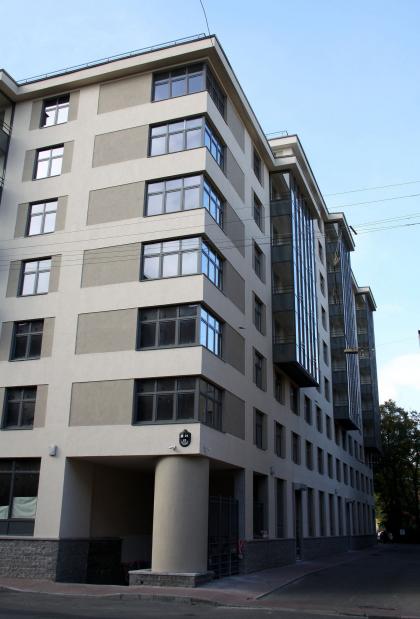 Жилой комплекс на улице Егорова