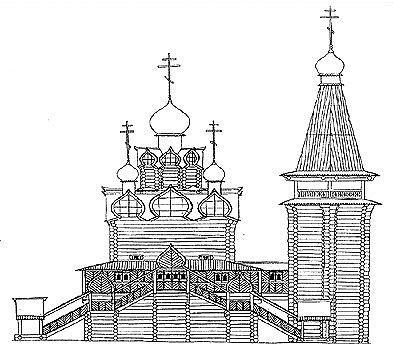 Рис. 3. Тобольский Софийский собор. Западный фасад.