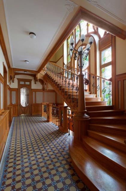 Усадьба «Модерн»: интерьеры главного дома