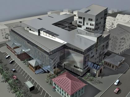Социально-деловой центр г. Тюмени