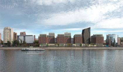 Эскизное предложение по строительству жилого комплекса с подземной автостоянкой