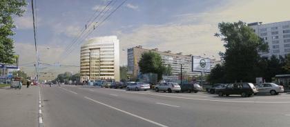 Общественно-административное здание с офисными помещениями
