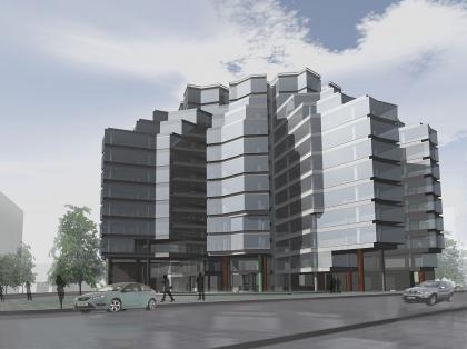 Офисный комплекс на Боровой улице