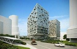 Многофункциональный гостиничный комплекс с апартаментами