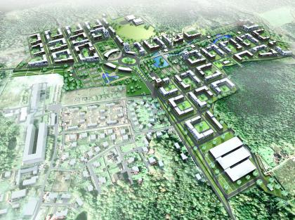 Ivanovskoe multi-family housing development