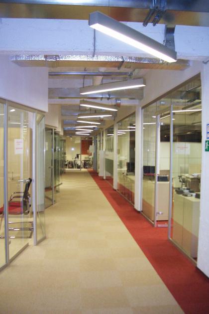 Офисные помещения компании «Проф-Медиа»