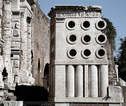 1. Гробница Пекаря Еврисака в Риме, I век до н.э. Фото: © Андрей Бархин