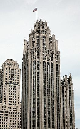 1. Здание Чикаго Трибюн, Р.Худ, 1923-25. Фото: © Андрей Бархин