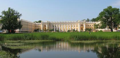 Reconstruction project of Alexandrovsky palace