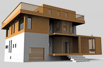 Реконструкция жилого дома в Подмосковье