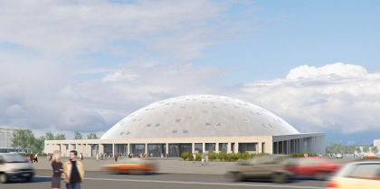 Athletic complex in Moscow district, St.Petersburg