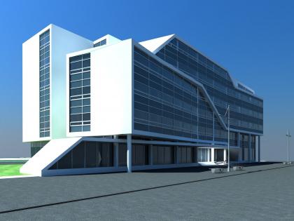Гостиница с офисными помещениями в Зеленограде