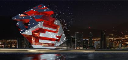 Оперный театр (конкурсный проект)