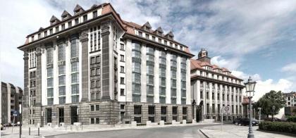 Государственный архив Саксонии – реконструкция