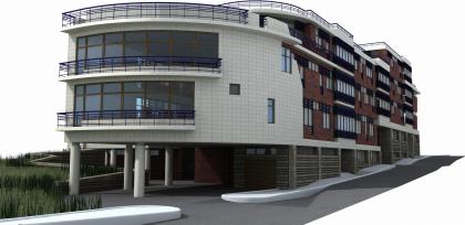 Малоэтажный жилой комплекс в Подкопаевском пер.