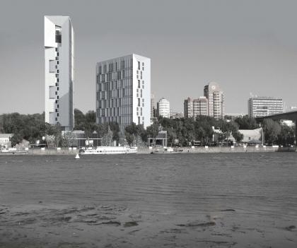Жилой комплекс на ул. Береговая