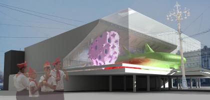 Конкурсный проект на обновление кинотеатра «Пушкинский»
