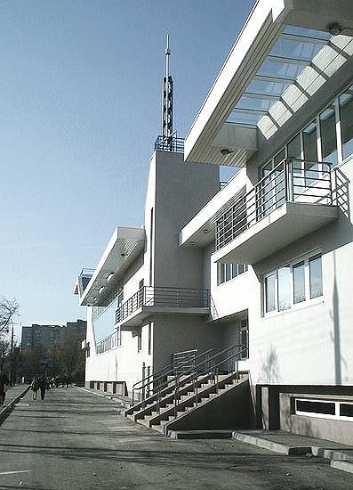 Учебно-спортивный, оздоровительный комплекс на ул. М.Филевская