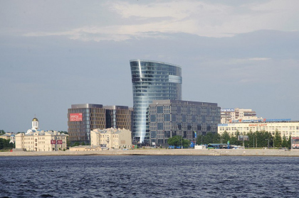 St. Petersburg Plaza business complex