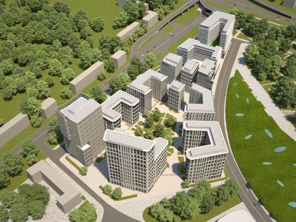Многофункциональный комплекс «ВТБ Арена Парк» © SPEECH