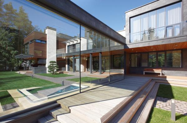 Частный дом Parallel House Фотография © Алексей Князев