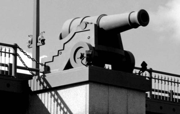 Эстакада Ушаковской развязки. Постройка, 2000  Фотография © Евгений Герасимов и партнеры