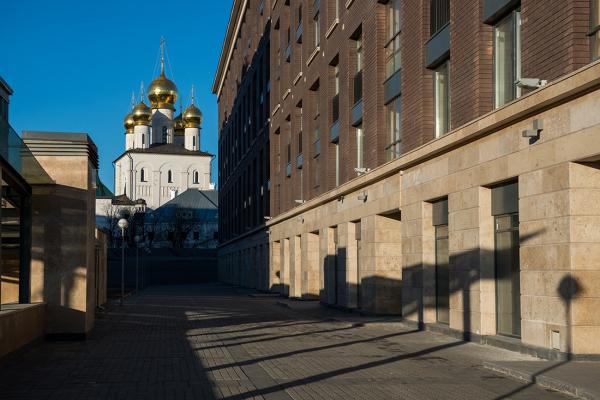 """""""Tsarskaya Stolitsa"""" housing complex  Copyright: © Evgeniy Gerasimov & Partners"""