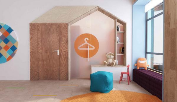 Детский хоспис «Дом с маяком», проект © IND Architects