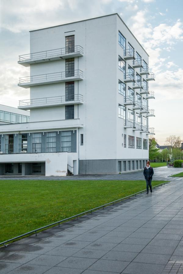Здание школы Баухаус в Дессау Фото © Денис Есаков