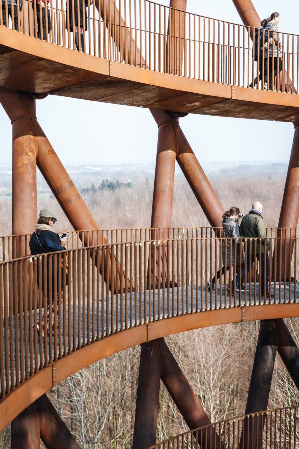 Смотровая башня в парке Camp Adventure Фото © Rasmus Hjortshøj