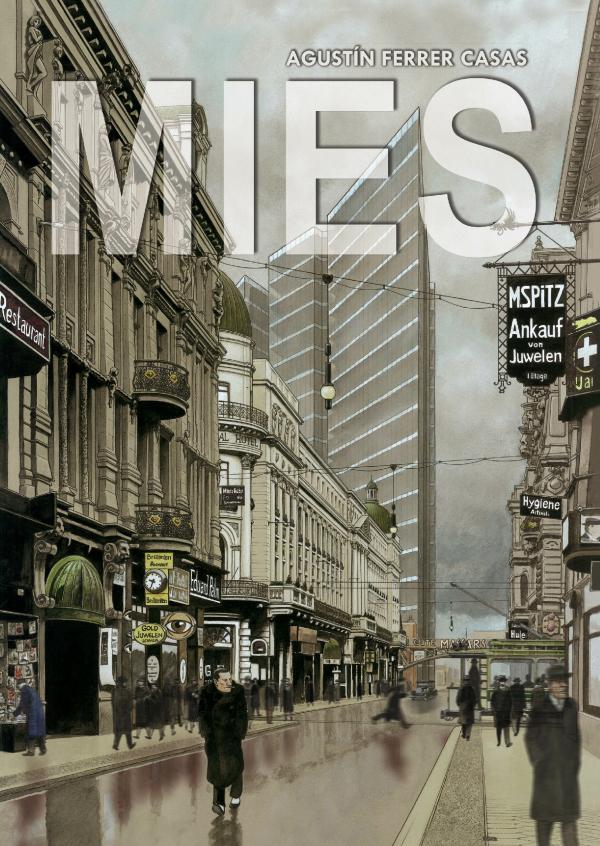 Обложка графического романа Mies, автор Агустин Феррер Касас Изображение предоставлено издательством Grafito Editorial
