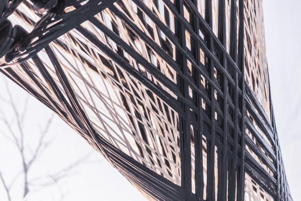 Павильон из композитного волокна BUGA © ICD/ITKE University of Stuttgart