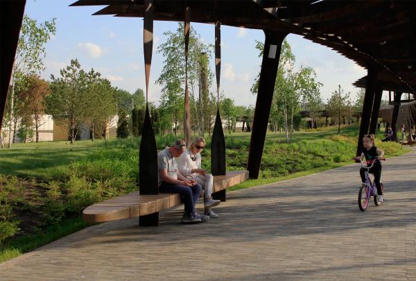 Парк Тюфелева роща, 2019 Фотография: Архи.ру