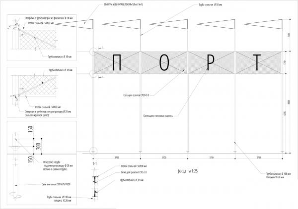 Флагшток. Севкабель ПОРТ: проект-перспектива нового общественного пространства Проект © бюро Хвоя