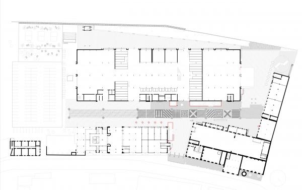 Генплан. Севкабель ПОРТ: проект-перспектива нового общественного пространства Проект © бюро Хвоя