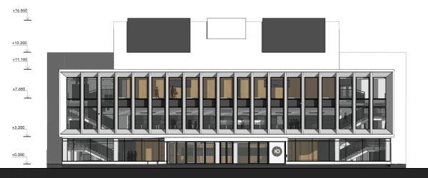 Концертный зал «Юпитер». Фасад © Архитектурное бюро С. Горшунова