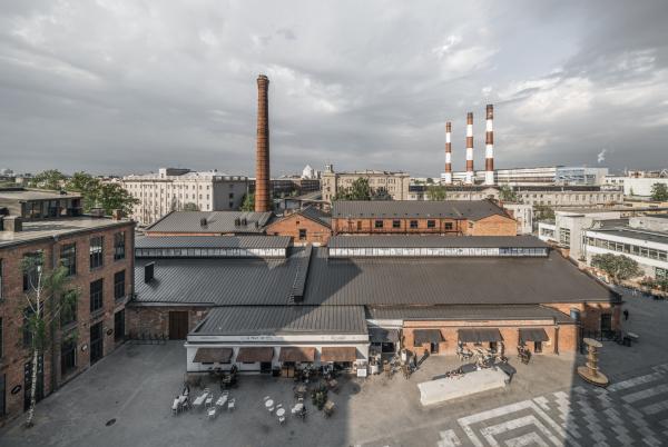 Севкабель ПОРТ / проект АБ «Хвоя» Фотография © Григорий Соколинский
