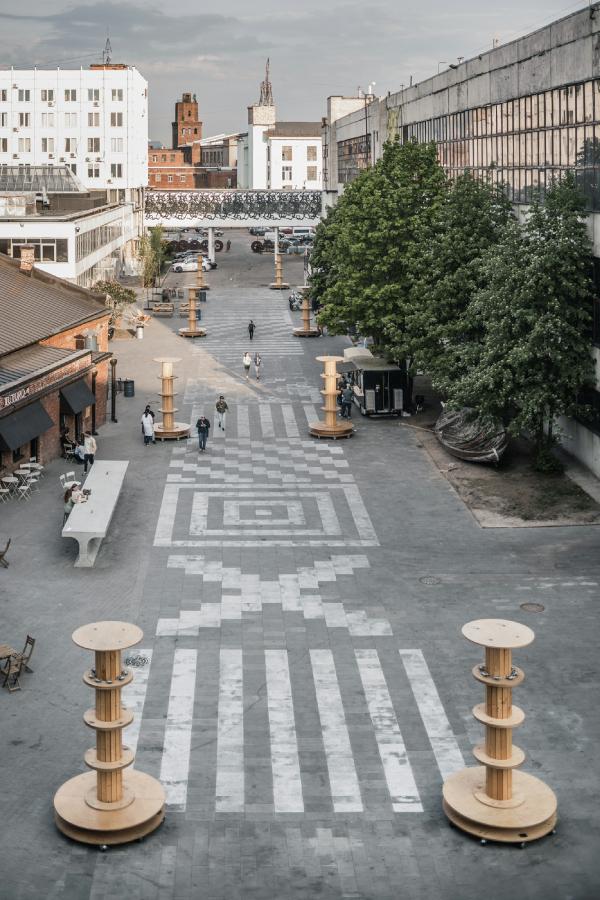 Бульвар. Севкабель ПОРТ / проект АБ «Хвоя» Фотография © Григорий Соколинский