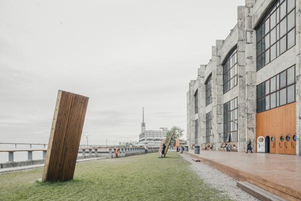 Набережная. Севкабель ПОРТ / проект АБ «Хвоя» Фотография © Григорий Соколинский