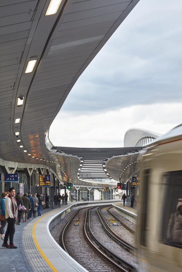 Реконструкция вокзала Лондон-бридж Фото © Paul Raftery