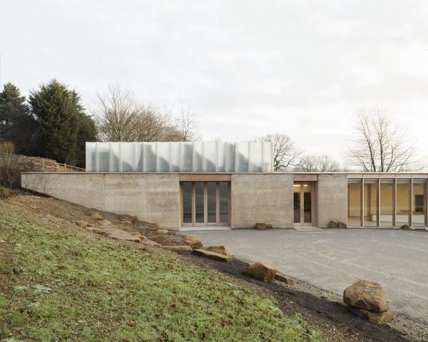 Посетительский центр и галерея The Weston Йоркширского парка скульптур Фото © Mikael Olsson