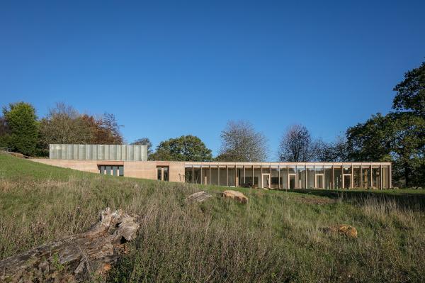 Посетительский центр и галерея The Weston Йоркширского парка скульптур Фото © Mike Dinsdale