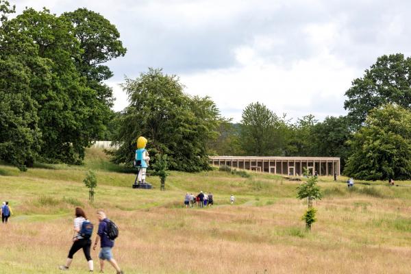 Посетительский центр и галерея The Weston Йоркширского парка скульптур Фото © Peter Cook