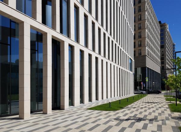 ВТБ Арена Парк: корпус 3, офисный / ТПО «Резерв» Фотография: Архи.ру