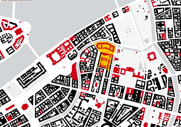 Концепция развития территории Придворно-конюшенного ведомства. Studio Mishin