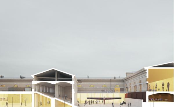 Концепция развития территории Придворно-конюшенного ведомства © Studio Mishin