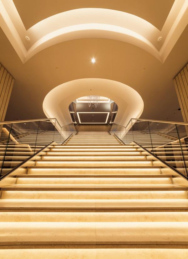 ВТБ Арена Парк: Hyatt Regency Фотография © Сергей Кротов. Дизайн интерьеров: Ara design