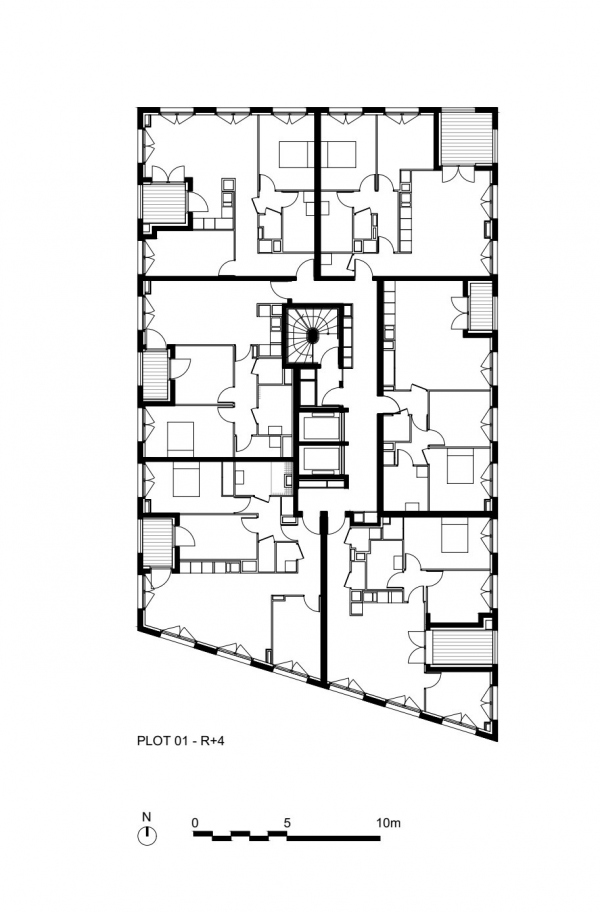 Квартал Polaris. Строение 1 © LAN