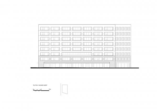 Квартал Polaris. Строение 6 © Atelier Stéphane Fernandez